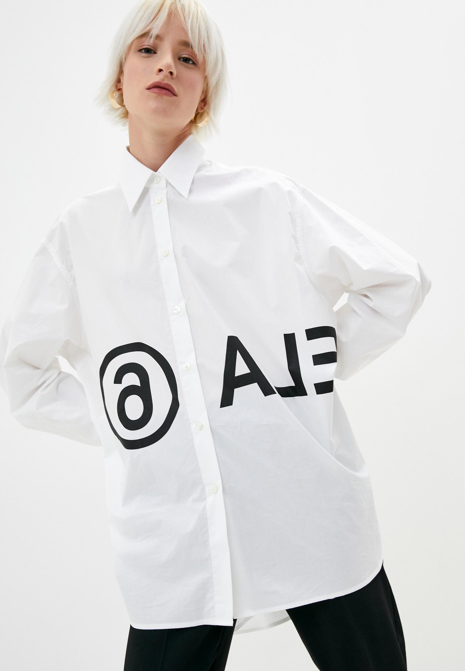 Женские рубашки с длинным рукавом MM6 Maison Margiela s52dl0097s47294
