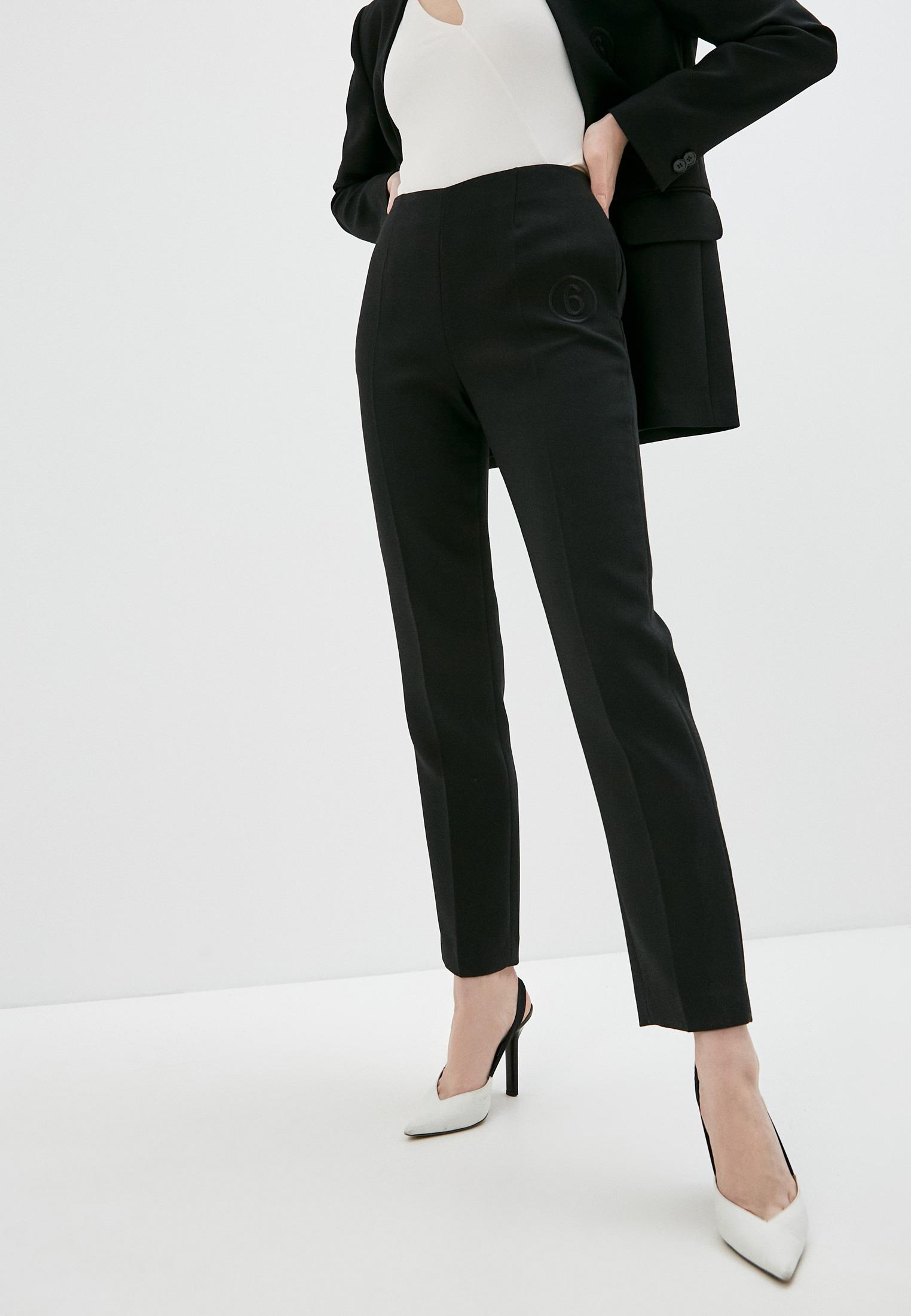Женские классические брюки MM6 Maison Margiela S52KA0297S47850