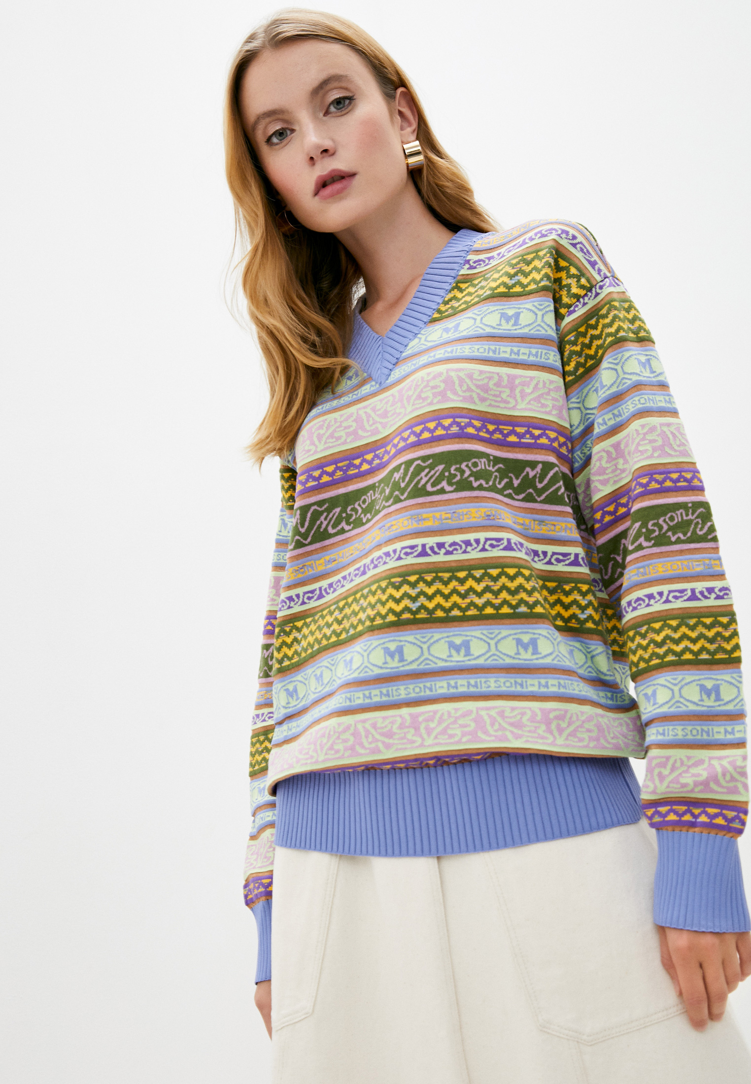 Пуловер M Missoni 2DN002662K006G