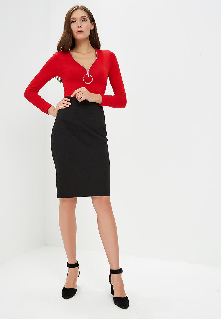 Прямая юбка Morgan 181-JCRAY.P: изображение 2