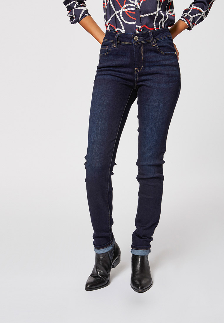 Зауженные джинсы Morgan 201-POM.P