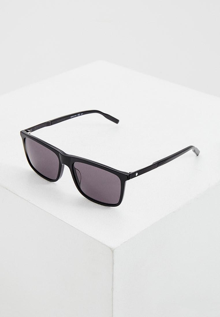 Мужские солнцезащитные очки Montblanc MB0116S