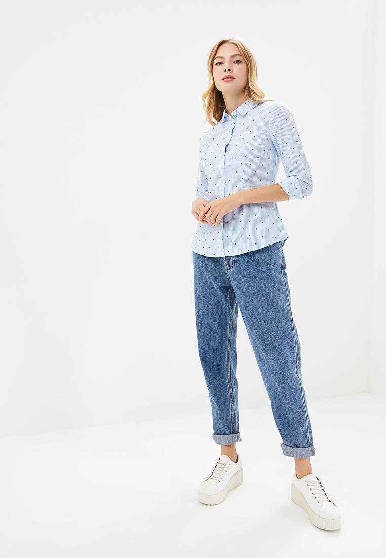 Женские рубашки с длинным рукавом Modis (Модис) M182W00121: изображение 5