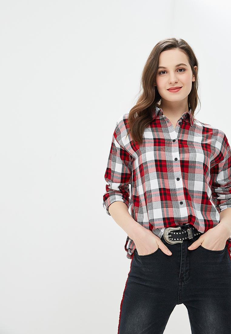Женские рубашки с длинным рукавом Modis (Модис) M191W00375