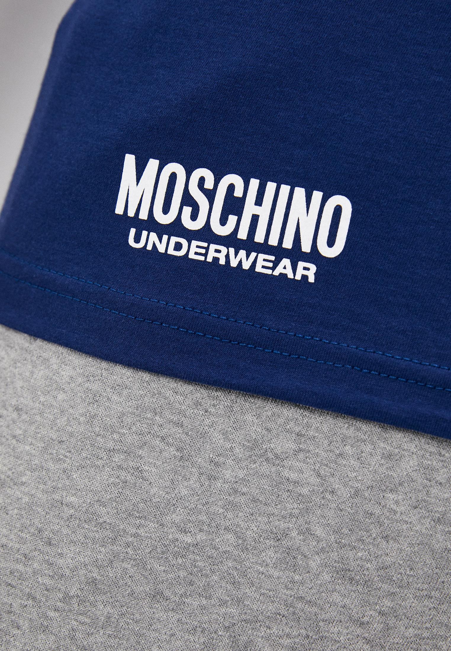 Домашняя футболка Moschino Underwear A19098114: изображение 5
