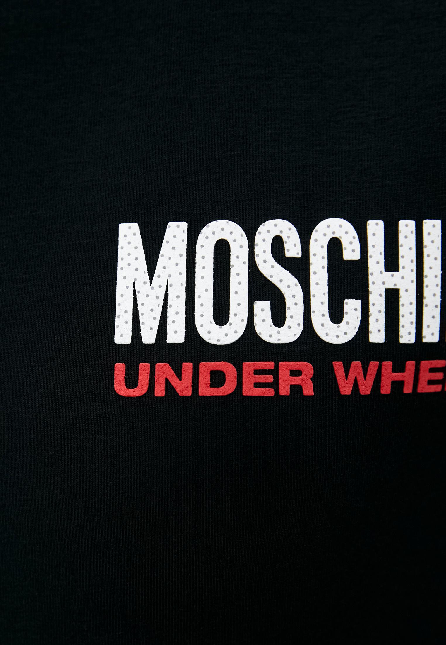 Домашняя футболка Moschino Underwear A19209003: изображение 4