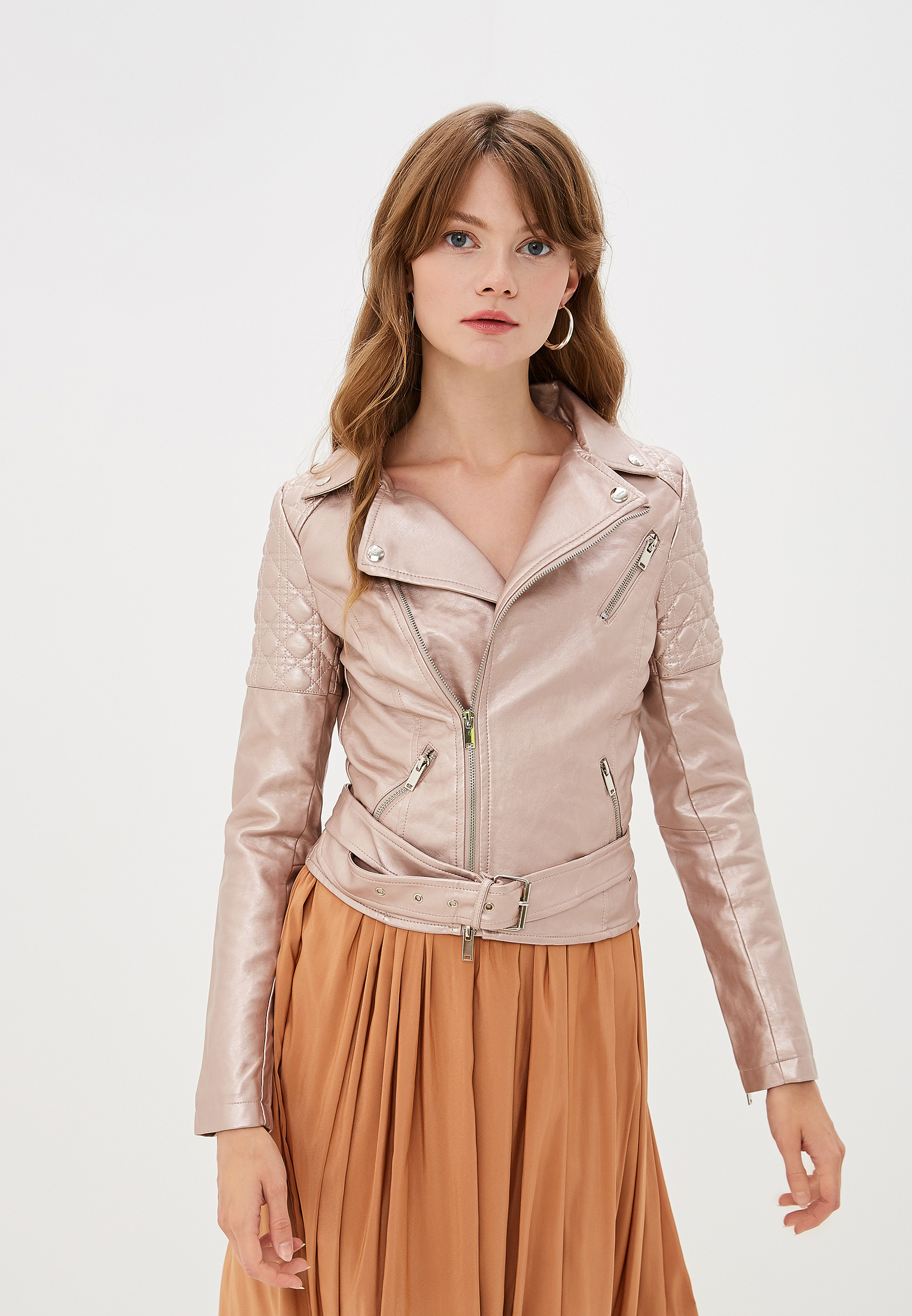 Кожаная куртка Moki 8993-1