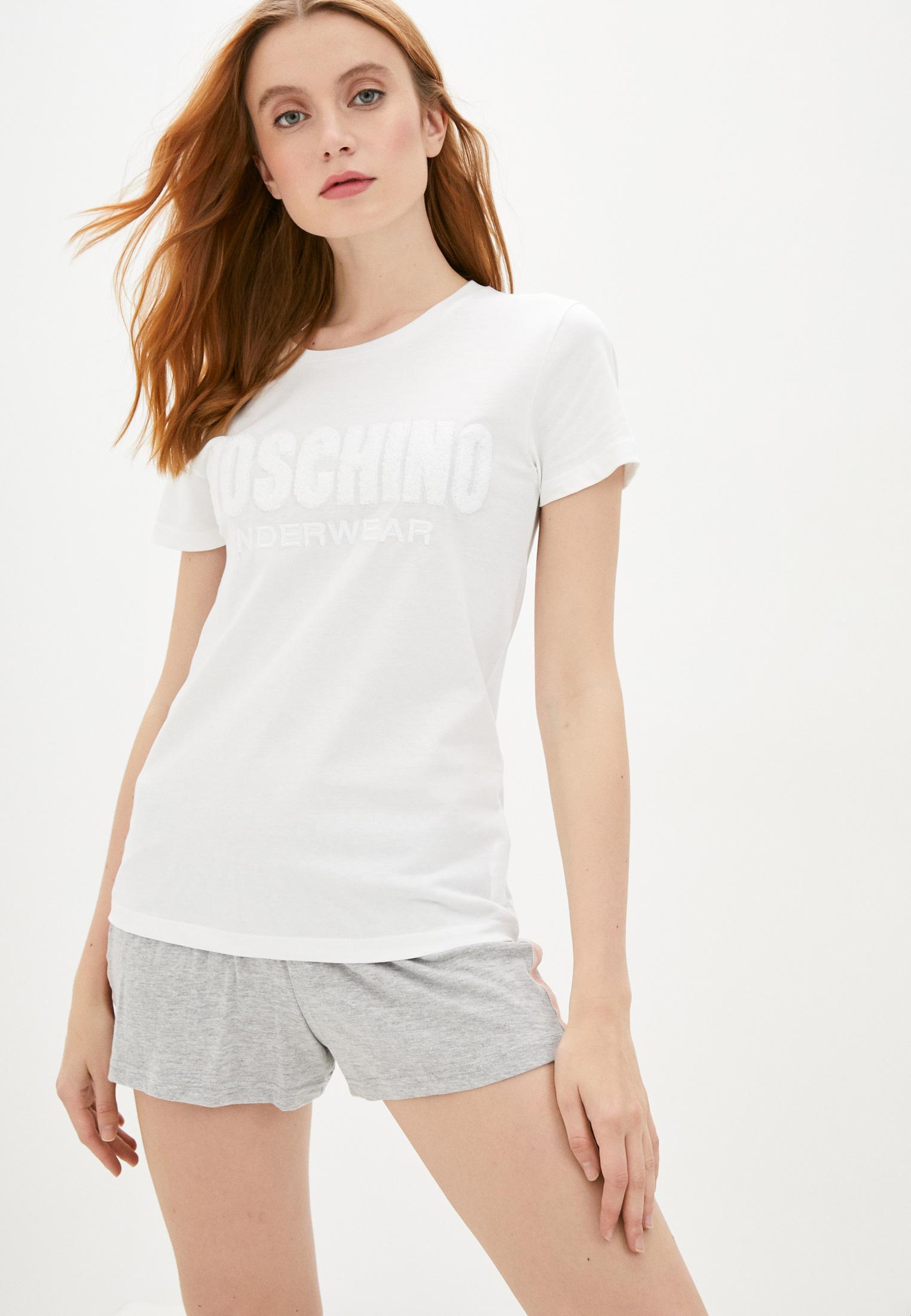 Домашняя футболка Moschino Underwear A19069016