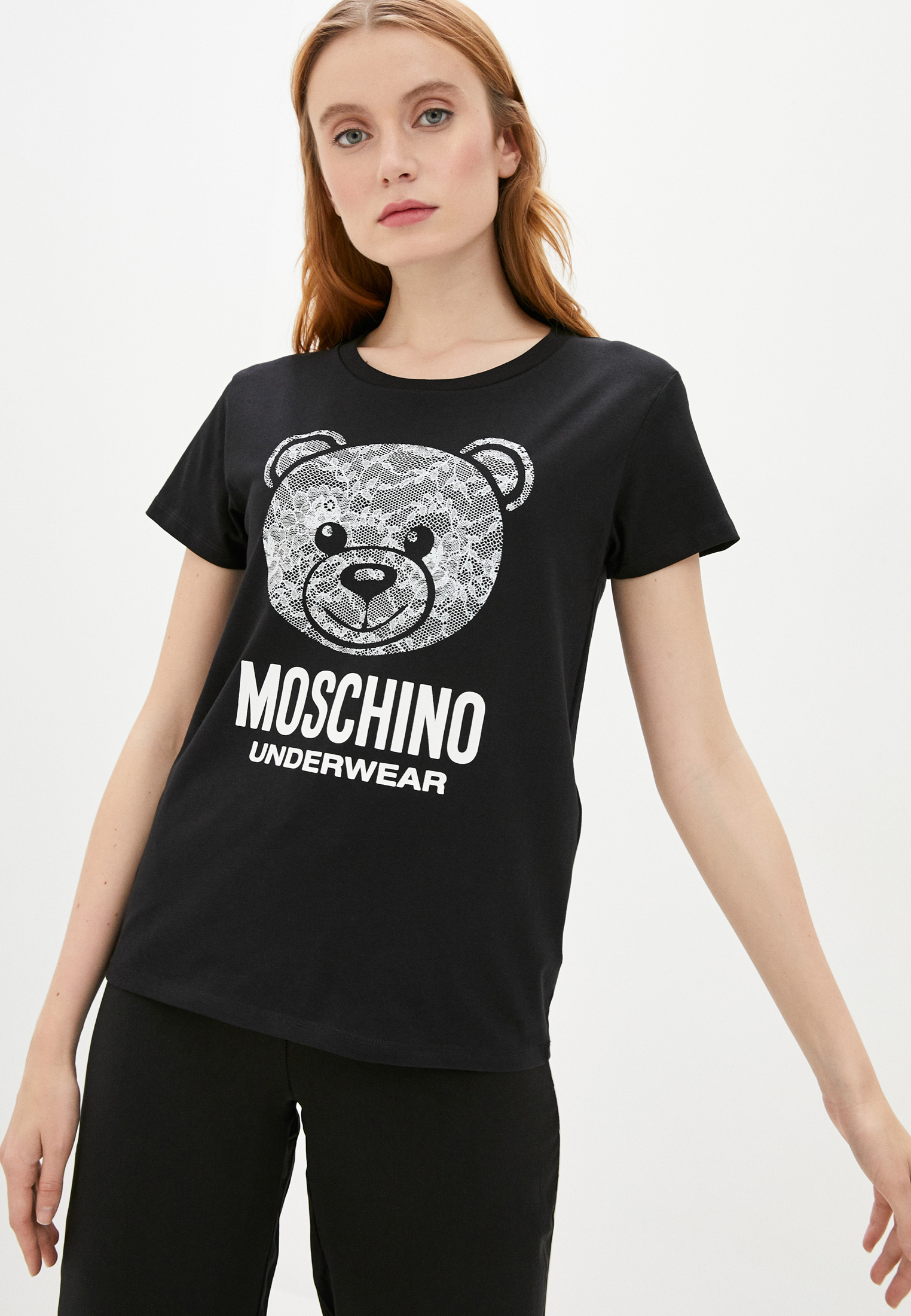 Домашняя футболка Moschino Underwear A19139019