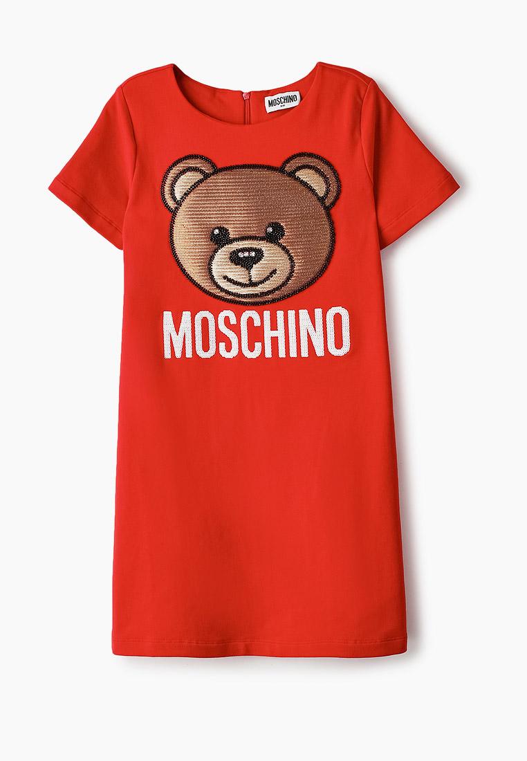 Повседневное платье MOSCHINO KID HAV088LDA12