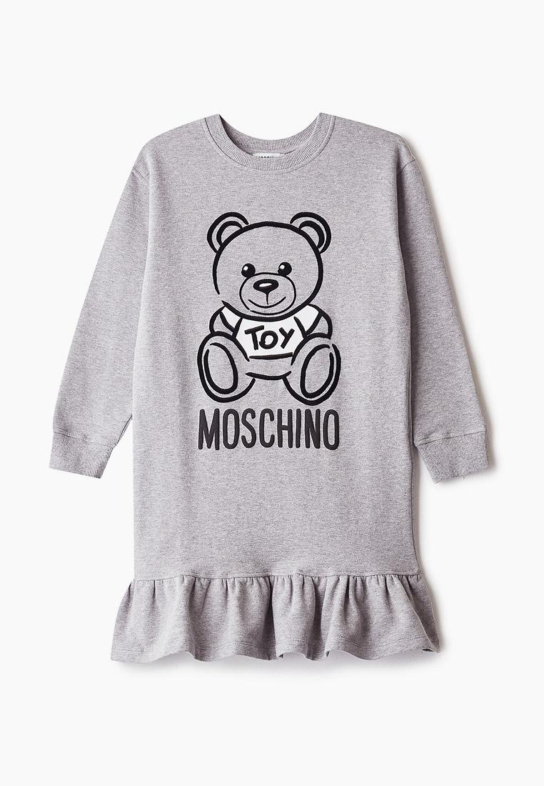 Повседневное платье MOSCHINO KID HDV085LDA17