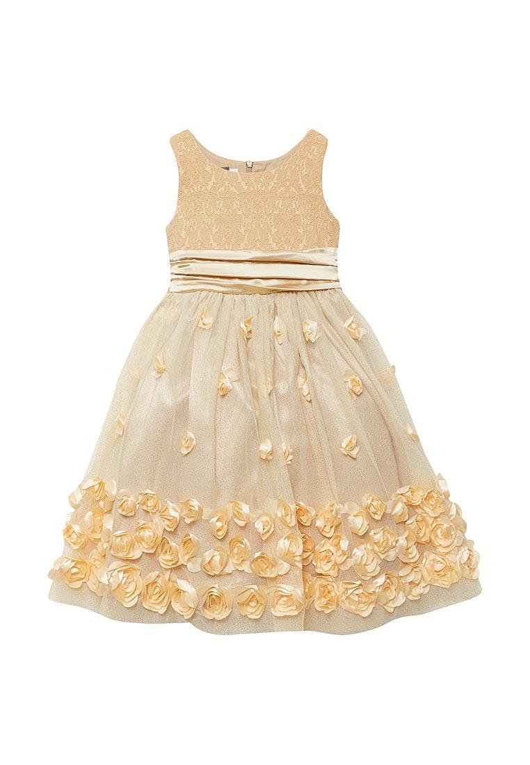 Нарядное платье Shened SH16700золото-104-110: изображение 1