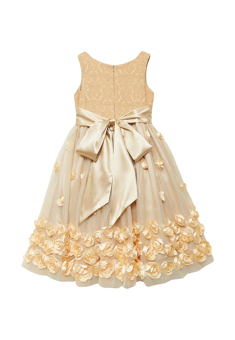 Нарядное платье Shened SH16700золото-104-110: изображение 2