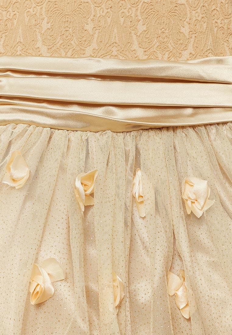 Нарядное платье Shened SH16700золото-104-110: изображение 3
