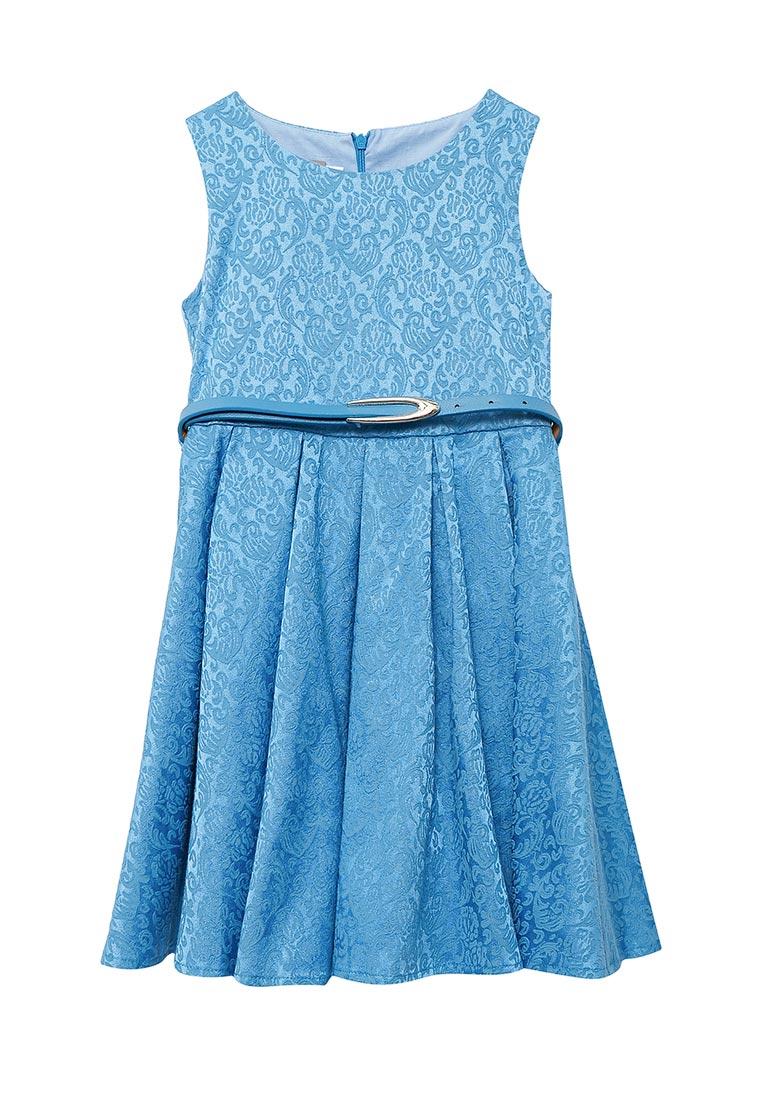 Нарядное платье Shened SH17100голубой-116-122