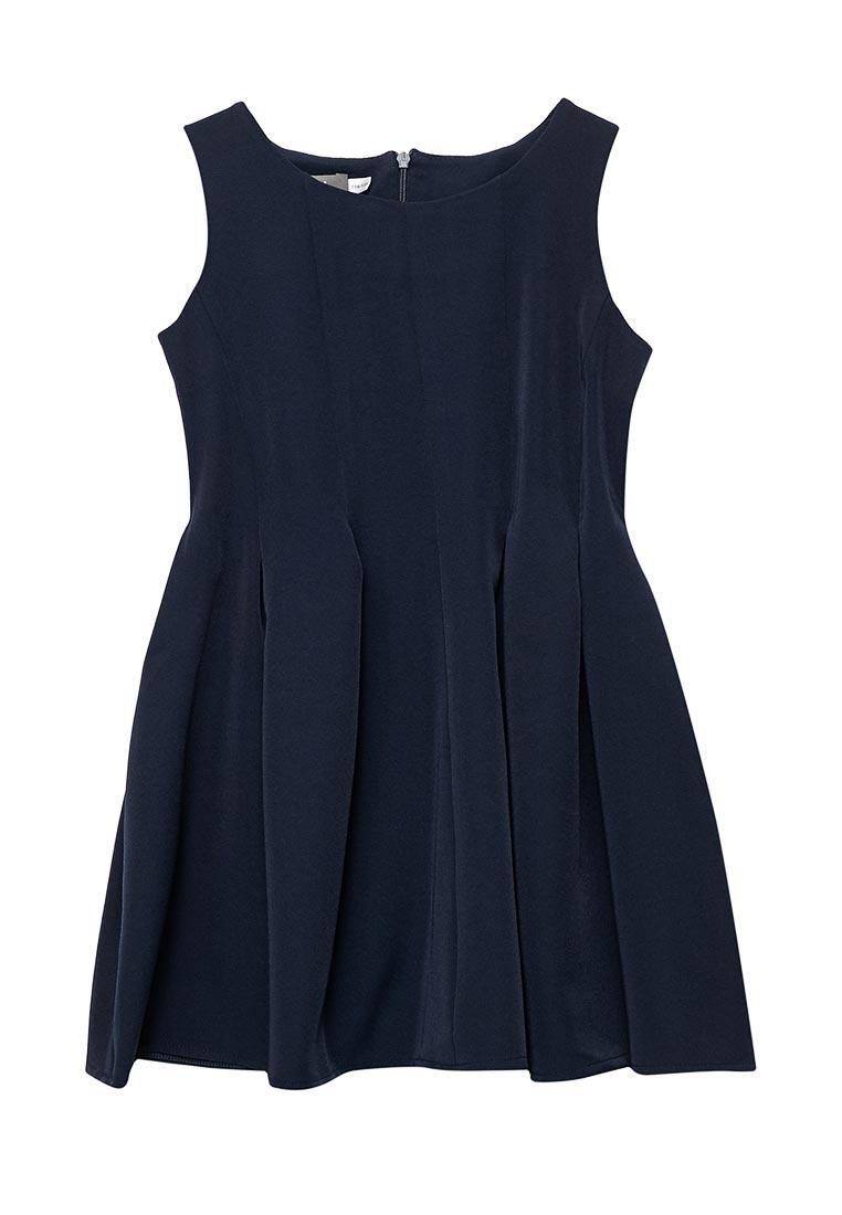 Повседневное платье Shened SH17504синий-116-122