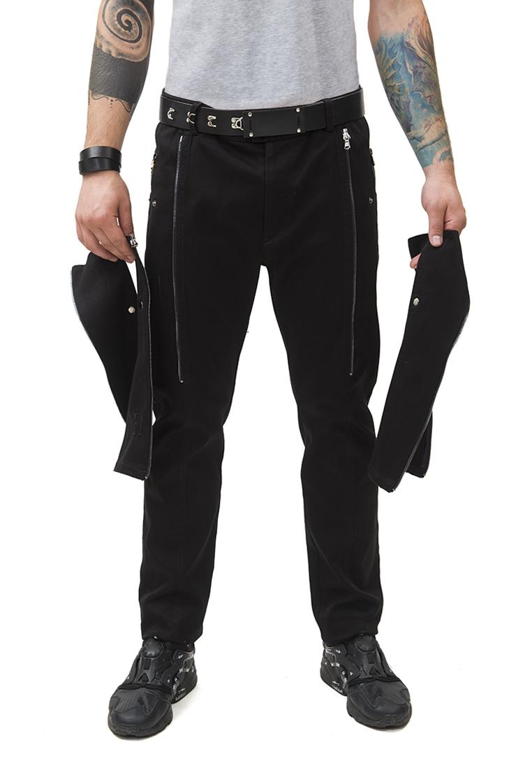 Мужские повседневные брюки Pavel Yerokin BSU-1-черный-44: изображение 1