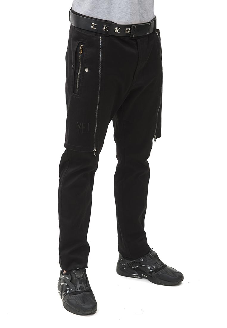 Мужские повседневные брюки Pavel Yerokin BSU-1-черный-44: изображение 4