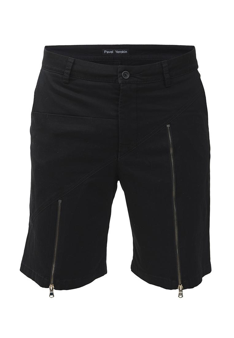 Мужские повседневные шорты Pavel Yerokin SHM-05-черный-44