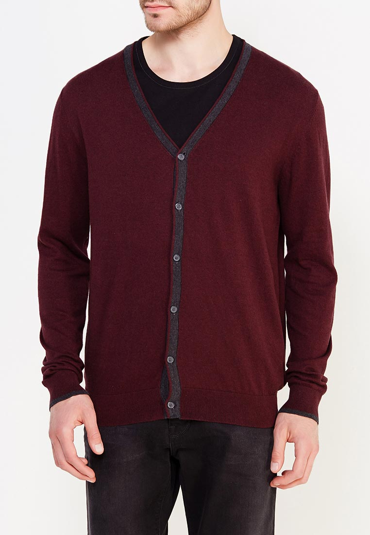Кардиган Colin's CL1017293_BORDEAUX_S