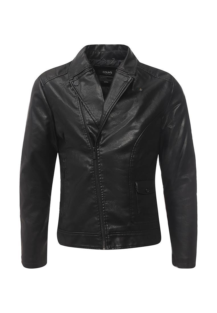 Кожаная куртка Colin's CL1029537_BLACK_S
