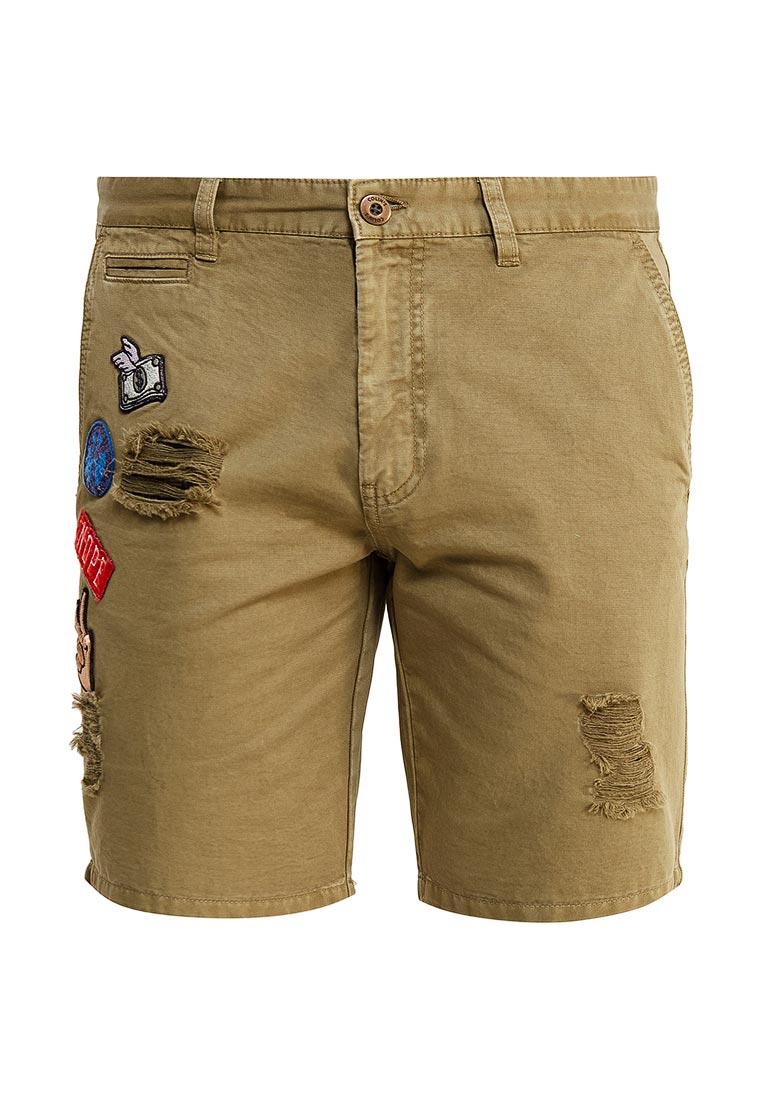 Мужские повседневные шорты Colin's CL1030581_KHAKI_S