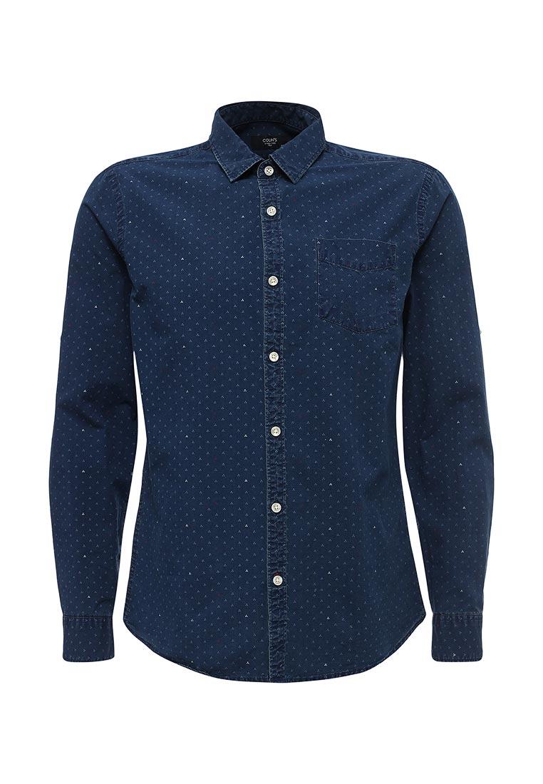 Рубашка с длинным рукавом Colin's CL1027998_NAVY_S