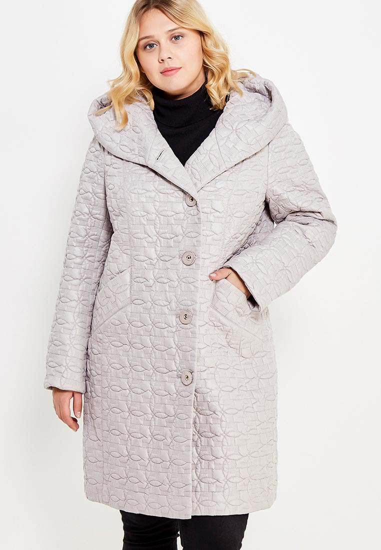 Утепленная куртка Brillare 3-443-29svetlo-bezevyj-50