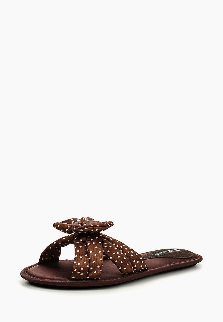 Женская домашняя обувь Petit Pas BBS011_шоколад_36
