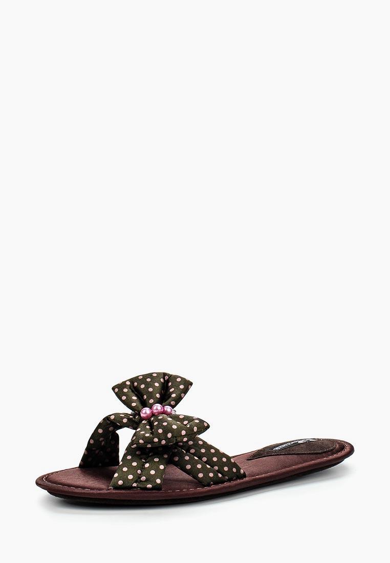Женская домашняя обувь Petit Pas BBS013_хаки_36