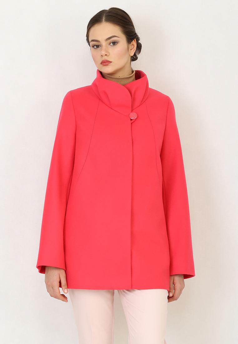Женские пальто Trifo 7430В-Ярко-розовый-46/170
