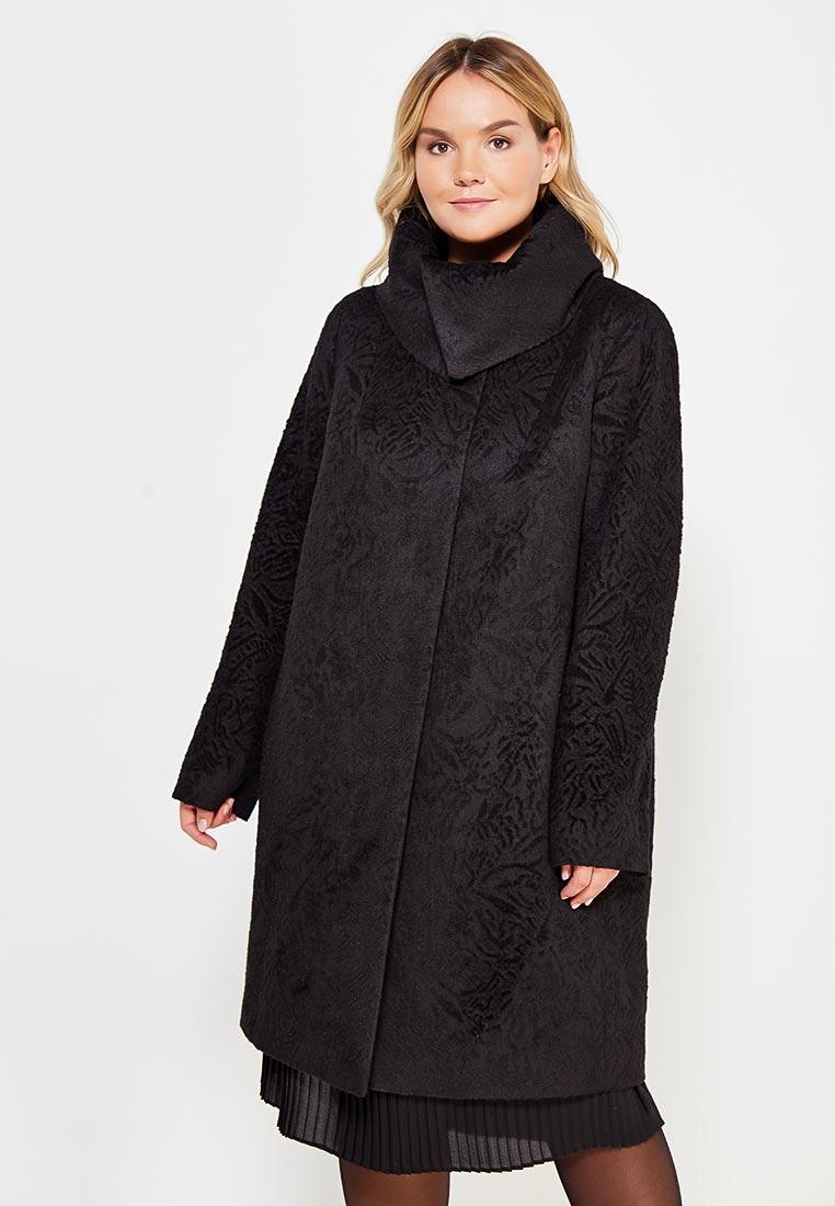 Женские пальто Trifo 7456-Черные узоры-50/170