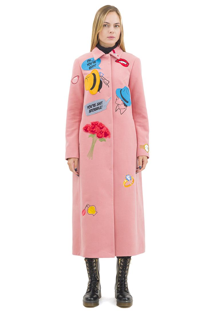 Женские пальто Pavel Yerokin SKS-80-розовый-40: изображение 1