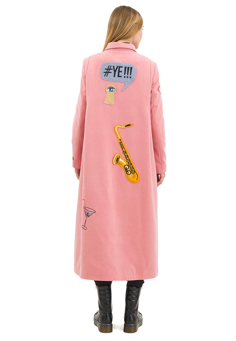 Женские пальто Pavel Yerokin SKS-80-розовый-40: изображение 3