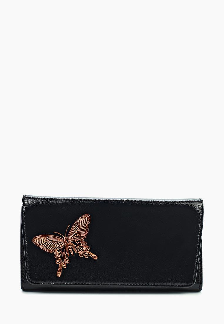 Кошелек FABULA (Фабула) PJ.160.LD.черный: изображение 1