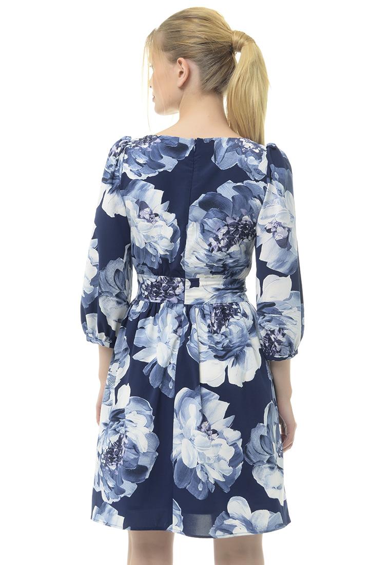 Вечернее / коктейльное платье Arefeva Платье L9114 синий L: изображение 3