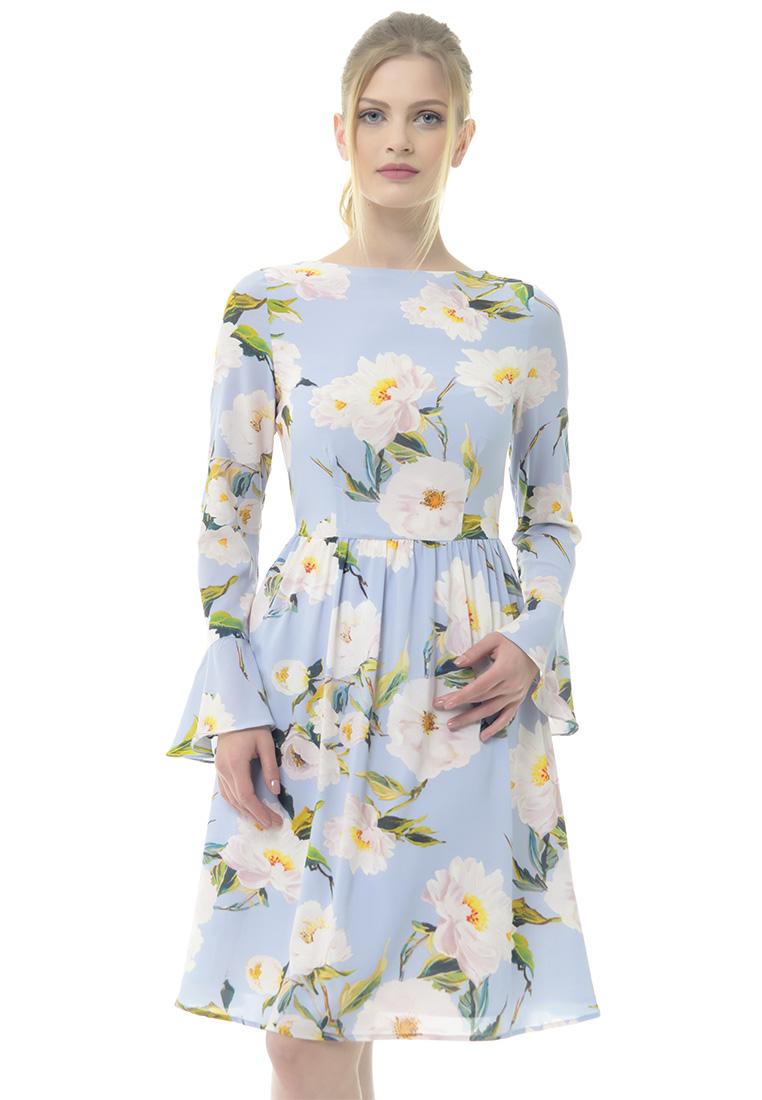 Платье Arefeva Платье L9115 серый L: изображение 1