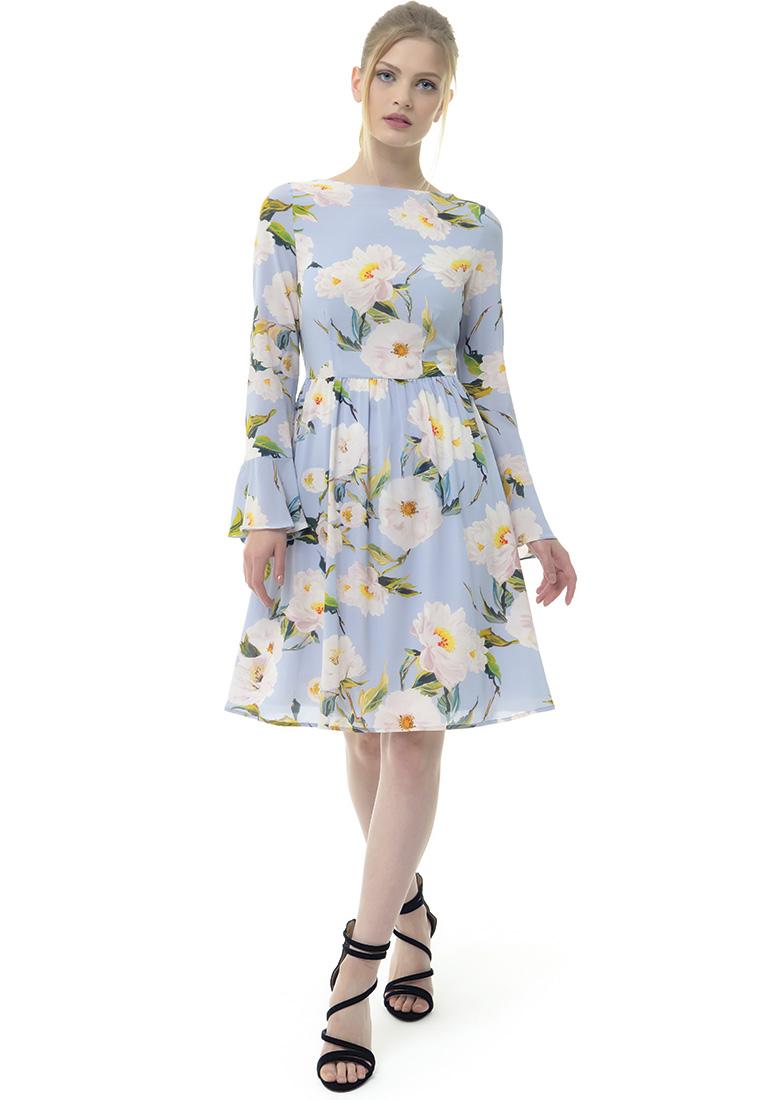 Платье Arefeva Платье L9115 серый L: изображение 2