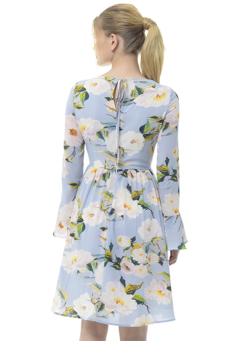Платье Arefeva Платье L9115 серый L: изображение 3