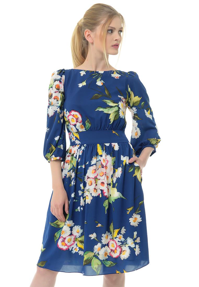 Вечернее / коктейльное платье Arefeva Платье  L9120  Темный синий L: изображение 1