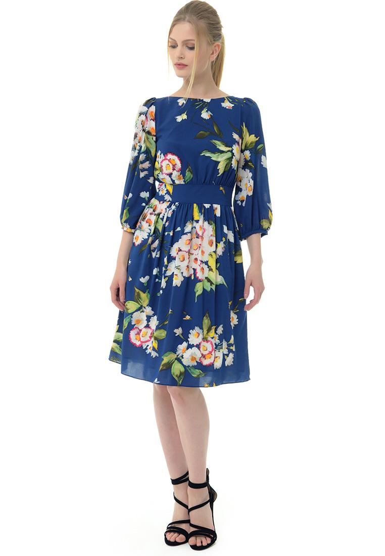 Вечернее / коктейльное платье Arefeva Платье  L9120  Темный синий L: изображение 2