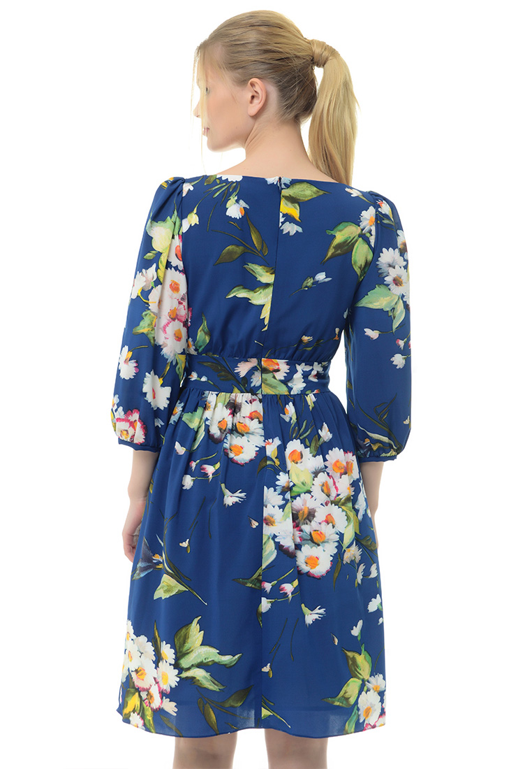 Вечернее / коктейльное платье Arefeva Платье  L9120  Темный синий L: изображение 3