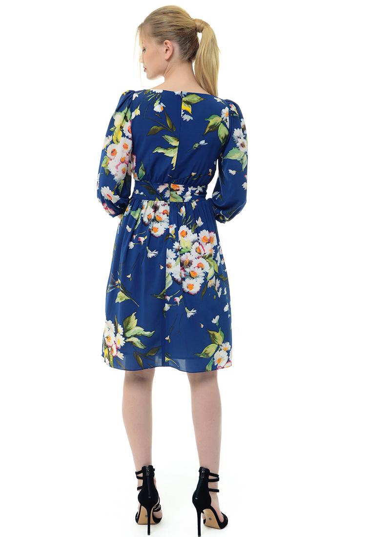 Вечернее / коктейльное платье Arefeva Платье  L9120  Темный синий L: изображение 4
