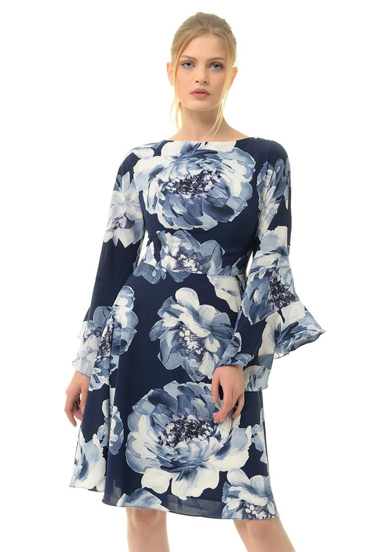 Вечернее / коктейльное платье Arefeva Платье  L9121  Синий L: изображение 1