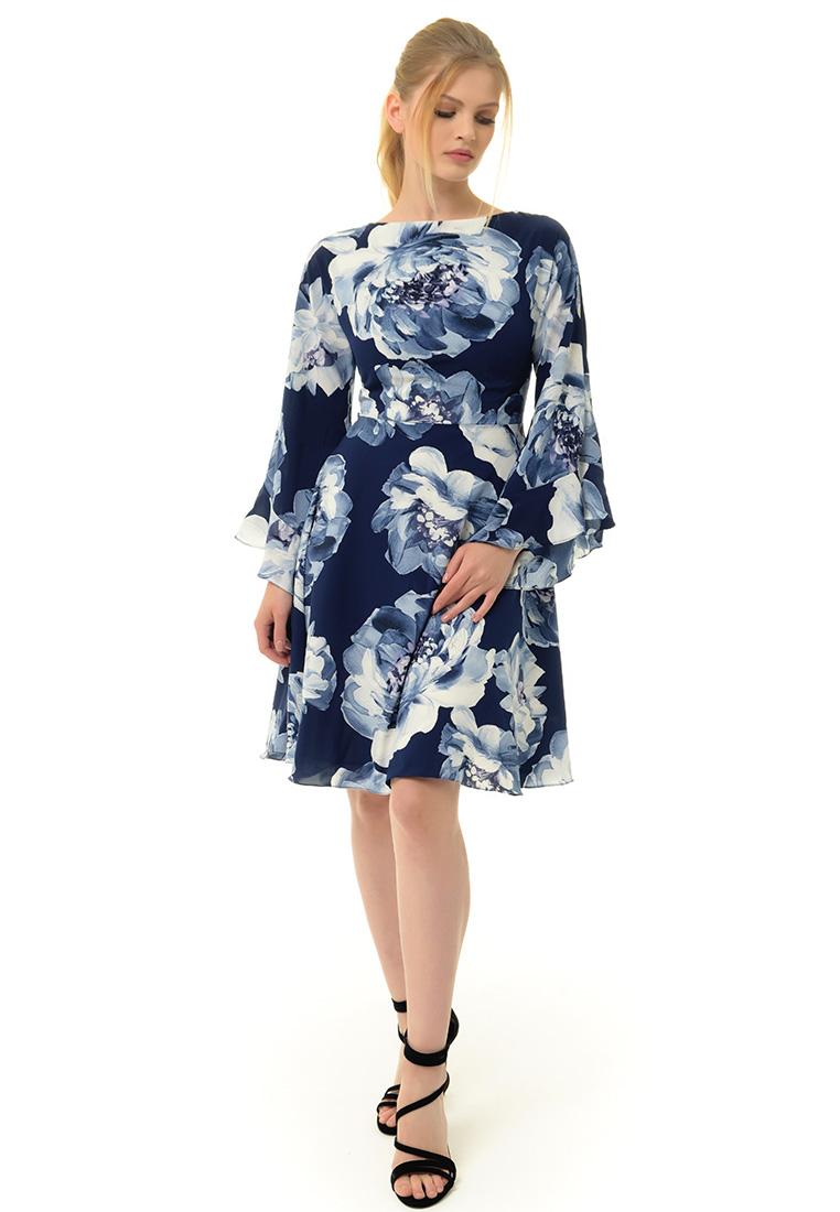 Вечернее / коктейльное платье Arefeva Платье  L9121  Синий L: изображение 2
