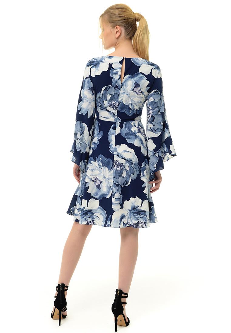 Вечернее / коктейльное платье Arefeva Платье  L9121  Синий L: изображение 4