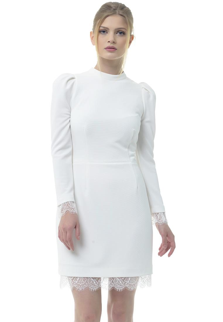 Вечернее / коктейльное платье Arefeva Платье А9107 светло-желтый L: изображение 1