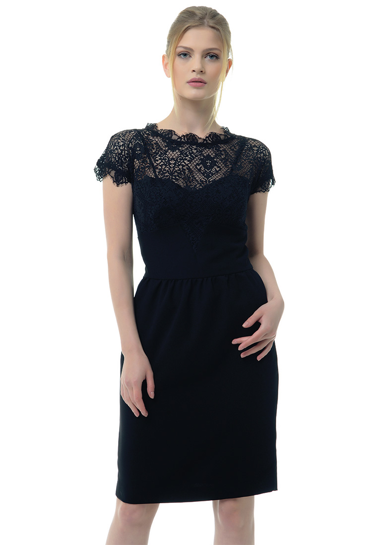 Вечернее / коктейльное платье Arefeva Платье  L9103  Черный L: изображение 1