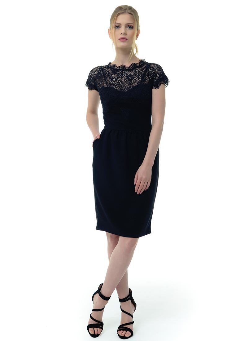Вечернее / коктейльное платье Arefeva Платье  L9103  Черный L: изображение 3