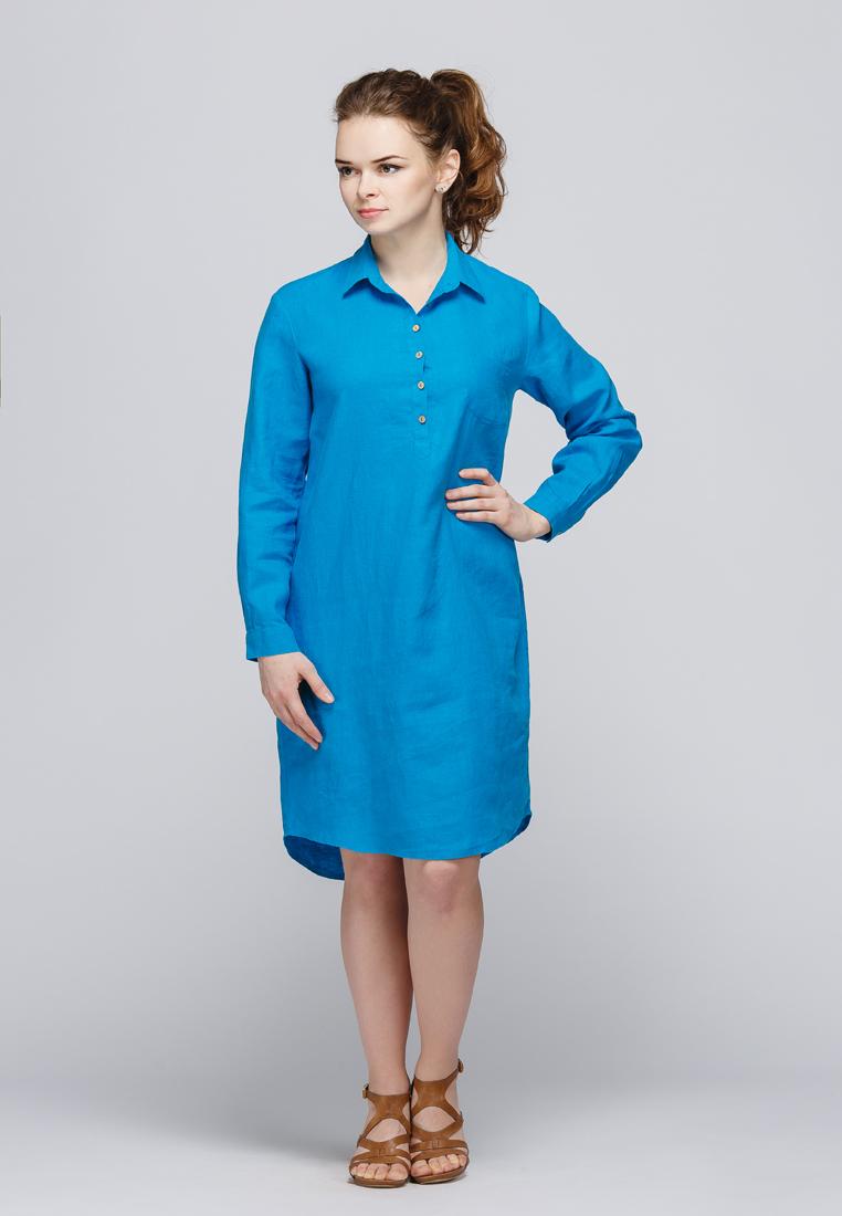 Летнее платье Kayros 2/136лазурь-44